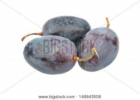 Three Berries Of Grapes