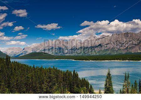 Upper Kananaskis Lakes area Peter Lougheed Provincial Park