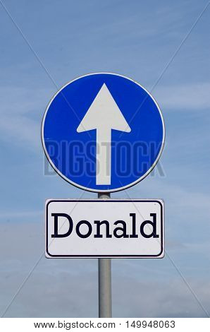 Donald, The Right Choice