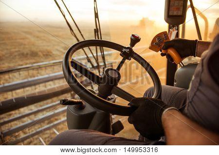 Holding The Wheel