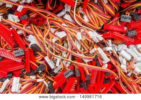 function key TV wires copper, electrical, technology, electric