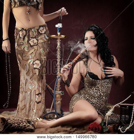 Portrait Of Oriental Girls