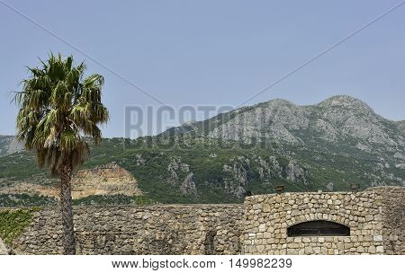 The 16th century Kanli Kula Fortress in Herceg Novi Montenegro was built by the Turks and once functioned as a prison as well as a fortress. poster