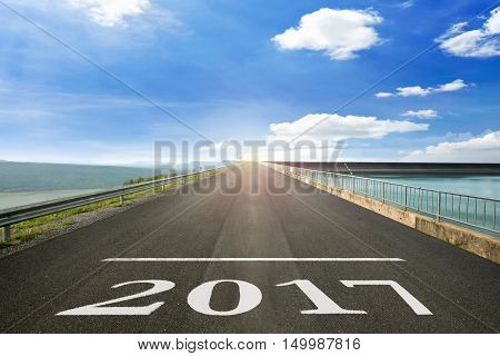 2017 - Road surface of begin to the Christian Era.