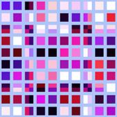 Retro tile color mosaic pattern background wallpaper abstract illustration poster