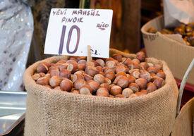 Sackful Of Hazelnuts