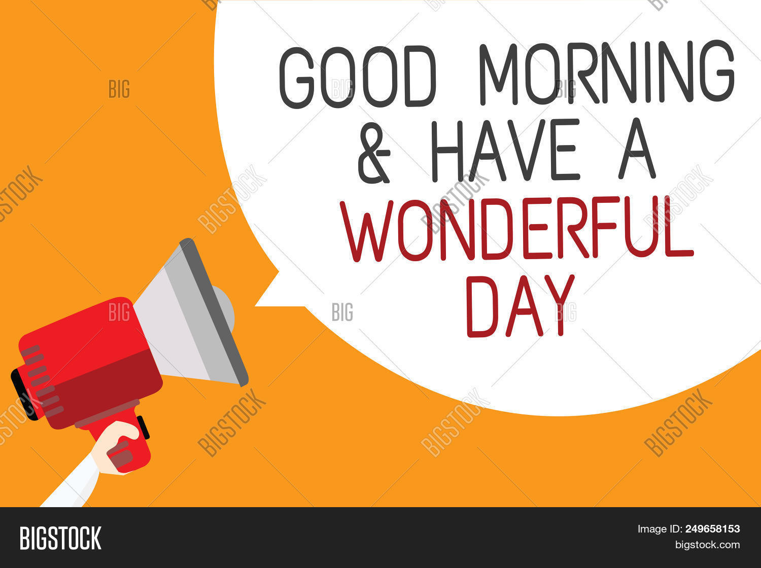Text sign showing good image photo free trial bigstock text sign showing good morningand have a wonderful day conceptual photo greeting someone in start m4hsunfo