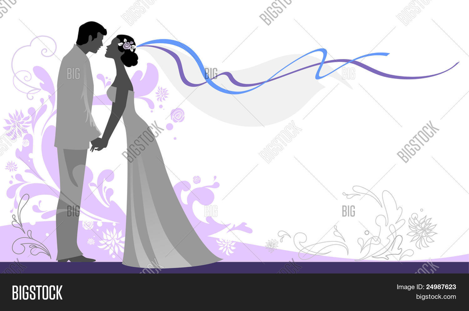 Wedding Background Vector & Photo (Free Trial) | Bigstock