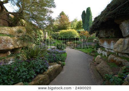 Ornate Walled Garden