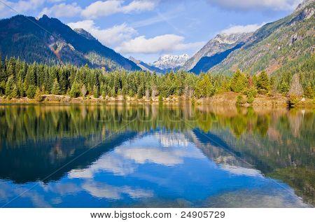 Mountains Reflection