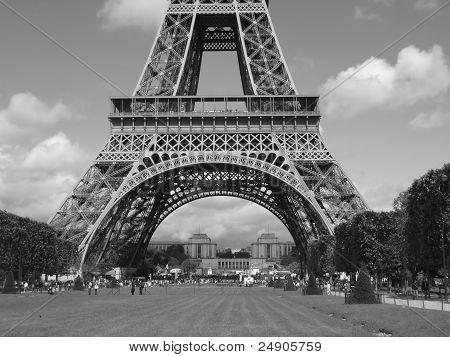 The Eiffel Tower of Paris, France