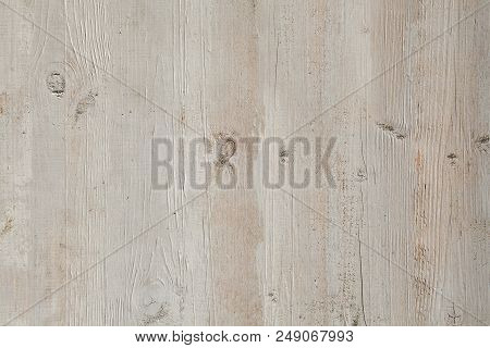 Pale texture of faded surface of dyed wood, abstract backdrop. poster