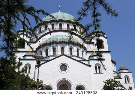 Church Of Saint Sava And Basilca, Belgrade, Serbia