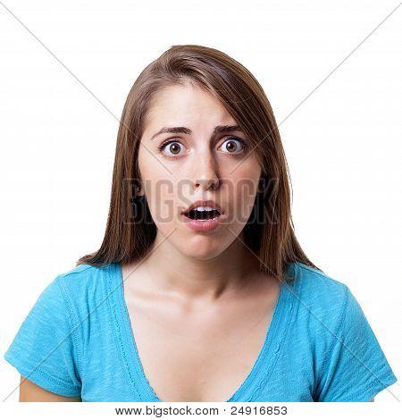 look of shock