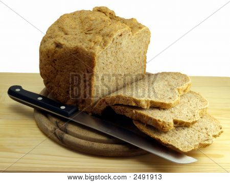 Sliced Bread Still Life