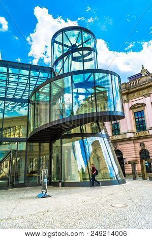 Berlin, May 25, 2015: German Historical Museum - Museum Of The History Of Germany, Located In Berlin
