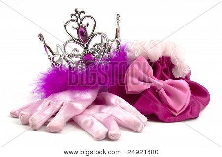 Pink princess accessories