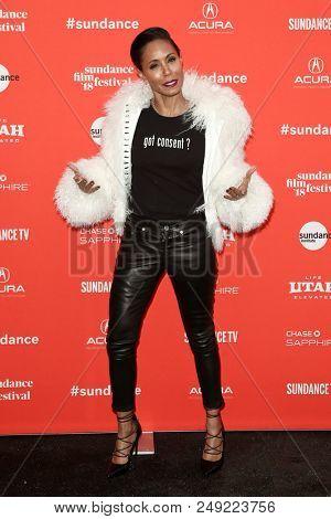 PARK CITY, UT-JAN 21: Actresss Jada Pinkett Smith attends the