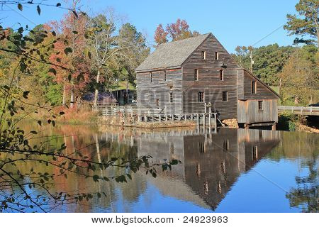 Yates Mill Reflection