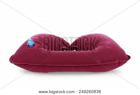 Inflatable Travel Pillow Illness, Car, Gray, Rest, Resting, Hold, Treatment, Neck,