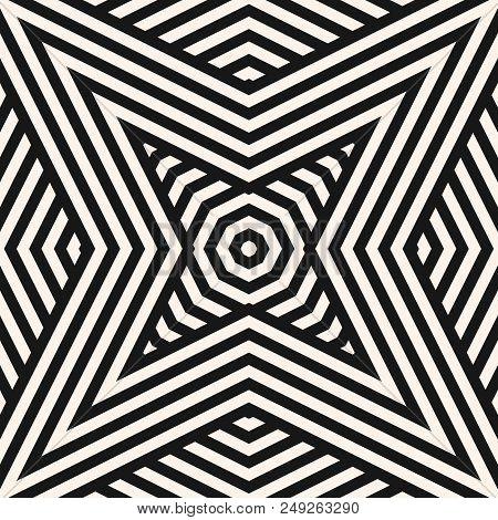 Black White Geometric Vector & Photo (Free Trial) | Bigstock