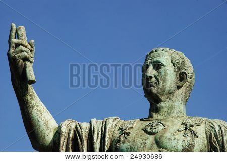 Caeser Nerva Trajanus Augustus, statue in Rome