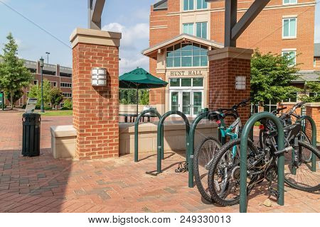 July 13, 2018 - Charlotte, North Carolina, USA: The University of North Carolina at Charlotte, also known as UNC Charlotte, is a public research university located in Charlotte, North Carolina.