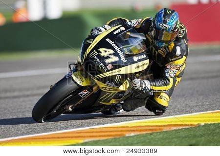 VALENCIA, SPAIN - NOVEMBER 5: Josh Hayes in motogp Grand Prix of the Comunitat Valenciana, Ricardo Tormo Circuit of Cheste, Spain on november 5, 2011
