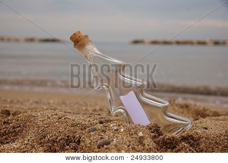 hope and message in the bottle