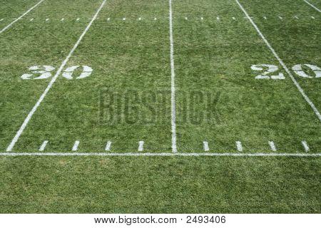 Football Field Yardage
