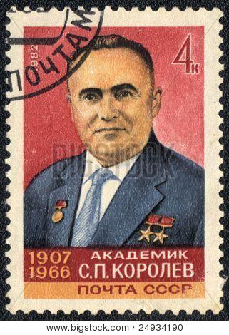 Portrait Of Sergei Korolev