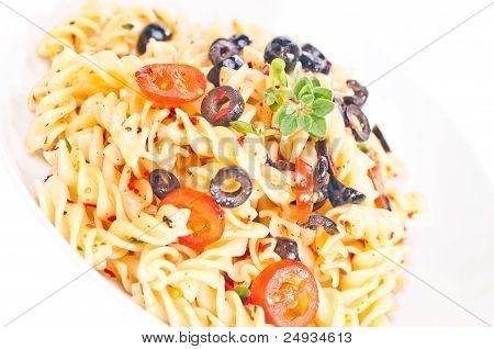 Aglio Olio Pasta  Extreme Close Up