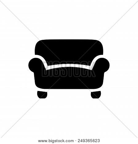 Sofa Vector Icon Flat Vector Photo Free Trial Bigstock
