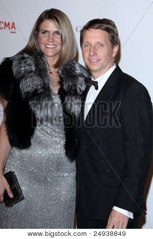 LOS ANGELES - NOV 5:  Colleen Bell, Brad Bell arrives at the LACMA Art + Film Gala at LA County Museum of Art on November 5, 2011 in Los Angeles, CA