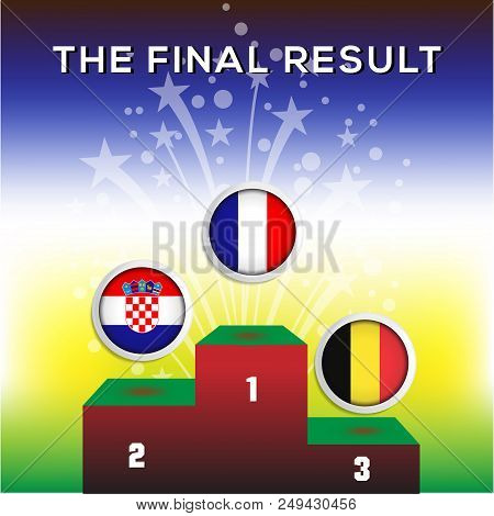 The Final Result World Champion Football 2018, Champion, Second Winner, Third Winner
