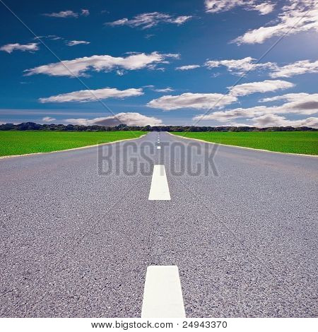 Cloudy Road