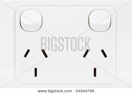 Australian Power Outlet.