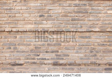 Brown  Brick Wall For Background Or Texture