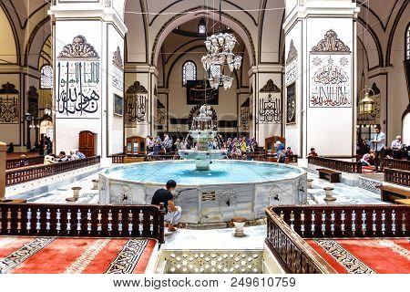 Grand Mosque In Bursa Osmangazi