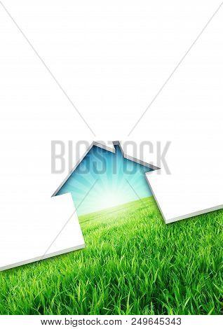 Eco Friendly House Concept