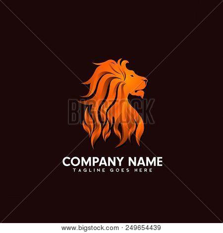 Lion Logo, Lion Icon Vector & Photo (Free Trial) | Bigstock