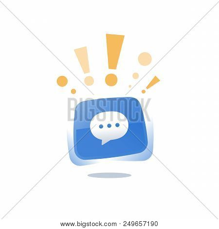 Online Live Chat Text Vector & Photo (Free Trial) | Bigstock