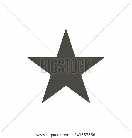 Star Icon. Rank Vector. Sparkle Symbol. Trendy Flat Ui Sign Design. Rank Graphic Pictogram For Web S