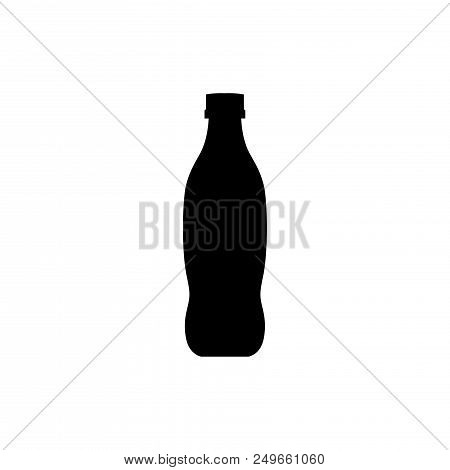 Soft Drinks Bottle Vector Icon Flat Style Illustration For Web, Mobile, Logo, Application And Graphi