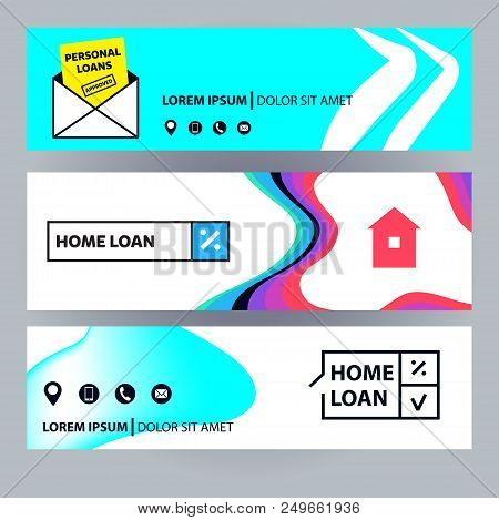 Home Loan. Template Vector & Photo (Free Trial) | Bigstock