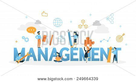 Management Concept. Business Decision Making For The Good Of The Company Such As Search And Hire Emp
