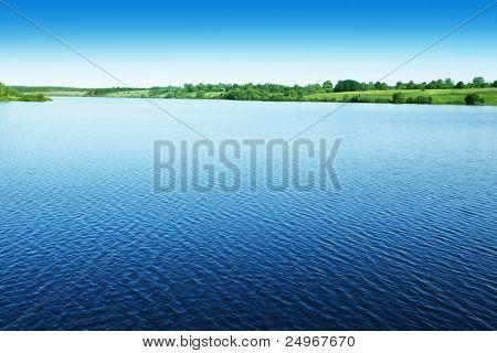 Water landscape.