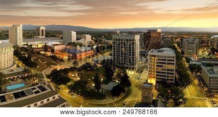 San Jose Is Considered The Capitol Of Silicon Valley, A Famous High Tech Center Of The World. This P