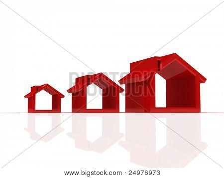 huis silhouetten