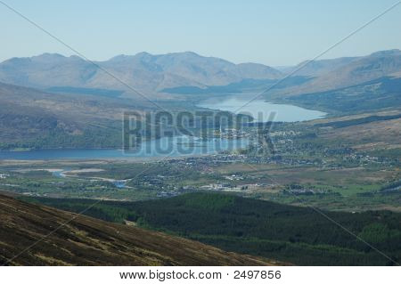 Mountains, Glens And Lochs, Scotland